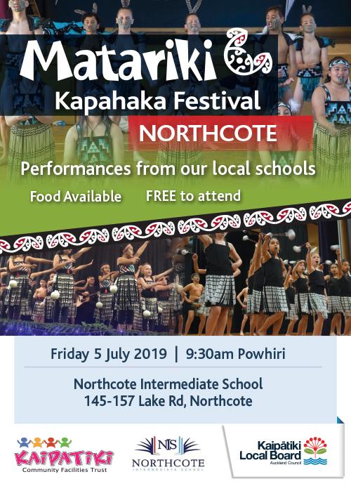 Matariki Kapahaka Northcote Flyer A5 Flyer 2019