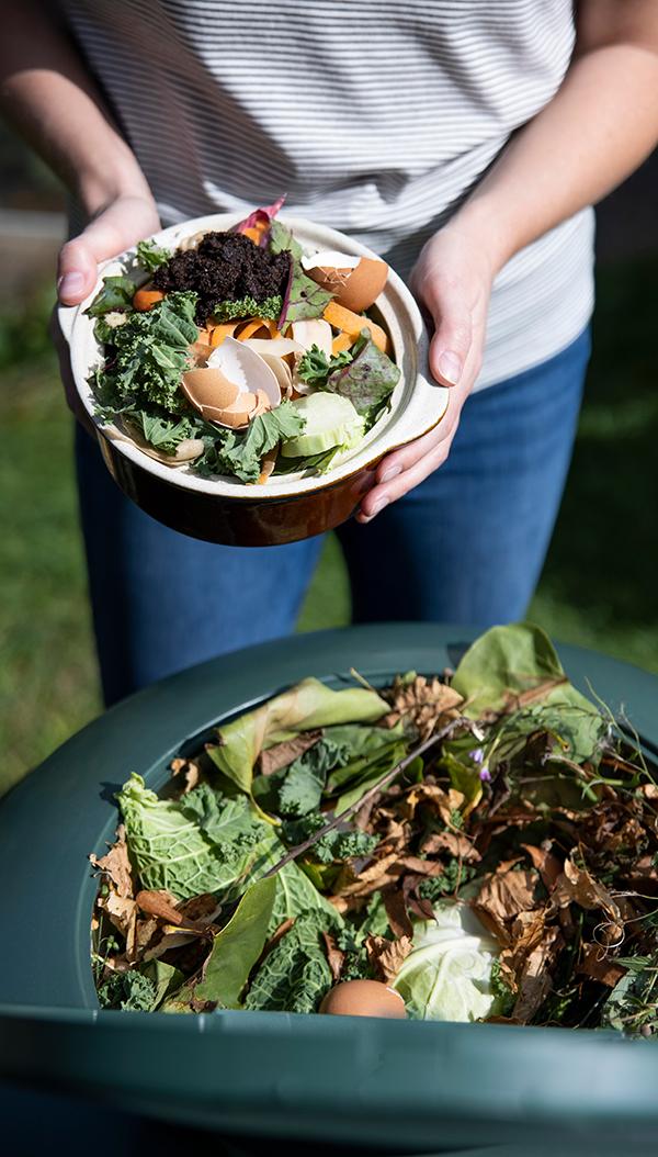 people-composting-food-scraps