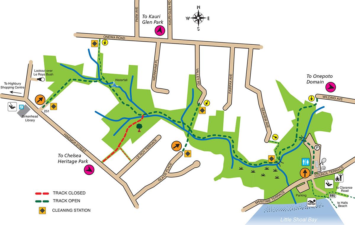 Le Roys map-2021